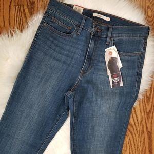 NEW slimming bootcut jeans 10short 30x30 dark